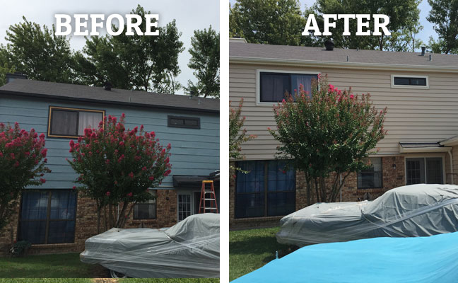 Vinyl Siding New Installation