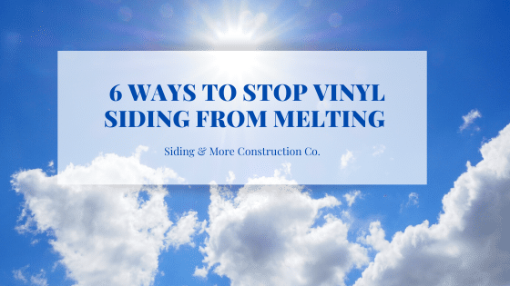 Stop Siding from Melting