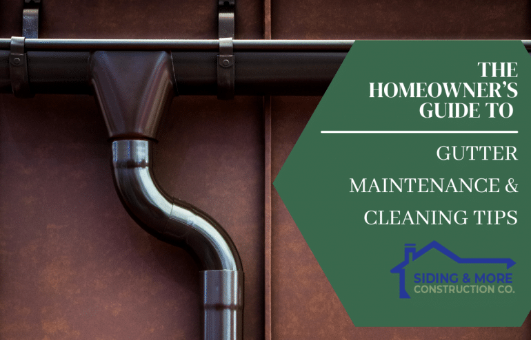 Gutter and Maintenance Cleaning Tips